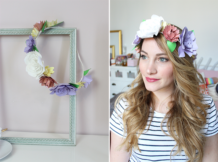 snapchat inspiration flower crown couronne fleurs tiboudnez diy