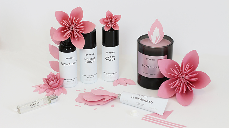 tiboudnez byredo cosmetics set design