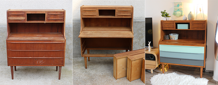 meuble renovation brocante chiné tiboudnez décoration