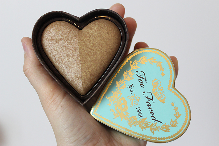 tiboudnez blog beauté make up glowy sweet peach too faced