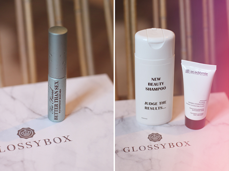 tiboudnez blog beauté glossy box revue make up maquillage