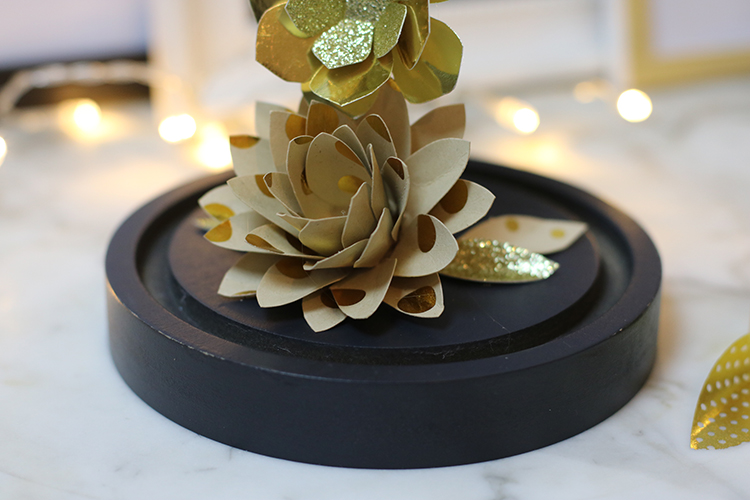 tiboudnez tuto diy do it yourself christmas noel cloche flowers